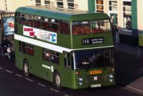 AAP668T in NBC green livery