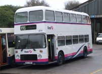 AFJ749T in Barbie 3 livery