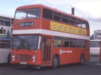 BKH981T in NBC red livery