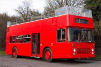 CJH119V in allover red livery