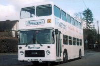 JWV273W in later Woottens livery