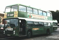 LFJ873W in NBC green livery with Cornwall Busways fleetnames