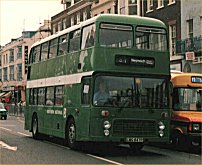 LWG847P in NBC green livery