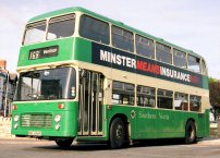NDL656R in Southern Vectis livery