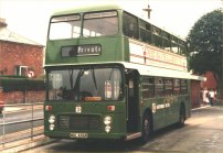 NDL656R in NBC green livery