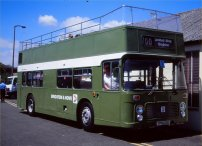 TPN103S open-top in NBC green livery
