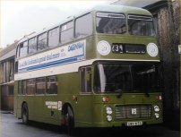 UWV617S in NBC green livery with Southdown