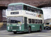 VUA474X in West Yorkshire PTE livery