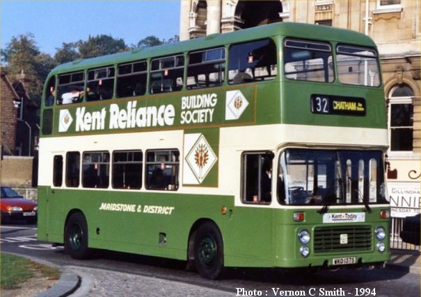WKO137S in initial Maidstone & District livery