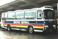 AFJ733T in Western National livery