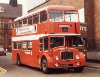 JAE630D in NBC red livery with West Riding