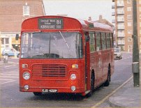 Allover red London Transport livery
