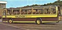 NKH972P with Halcyon Tours